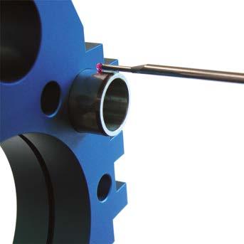 Medición de diámetro exterior con palpador standard 930.2101