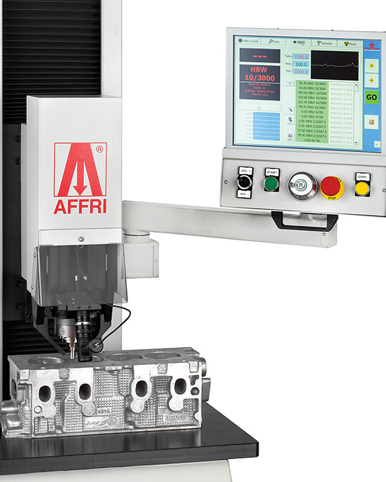 Brinell hardness tester Integral engine
