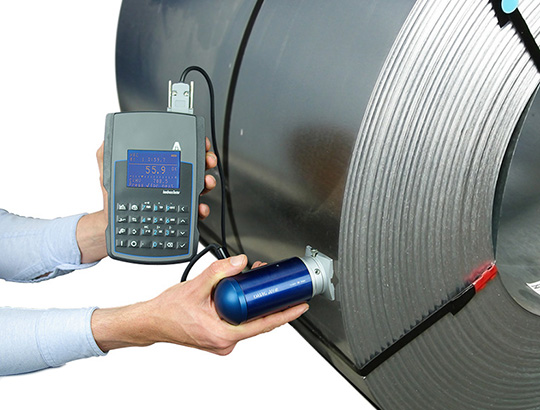 Portable hardness tester Rockwell Affri MKII coil