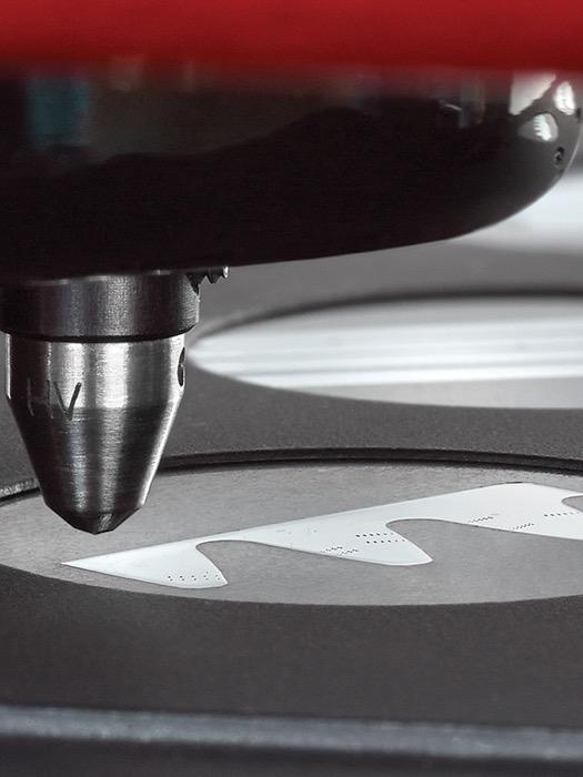 Vickers Knoop hardness tester WIKIJS pattern