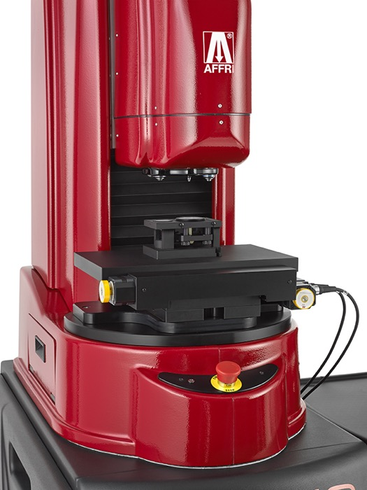 Vickers Knoop hardness tester WIKIJS sampleholder