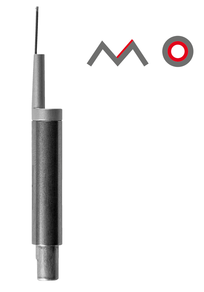 BORE TRACER WITHOUT SKID (BZFH)  Smallest bore: Ø 1.5 mm Max. measuring depth: 15 mm Gear tooth flanks: ab Modul 0.75