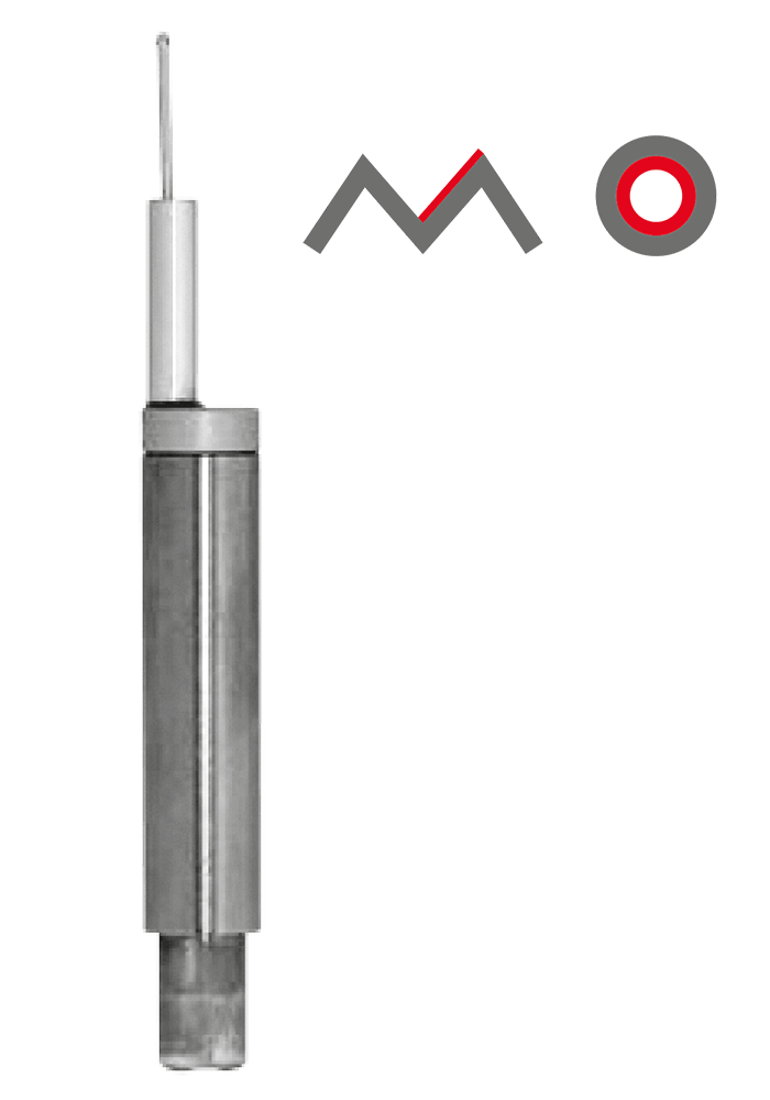 BORE TRACER WITHOUT SKID (BZFH)  Smallest bore: Ø 0.8 mm Max. measuring depth: 15 mm Gear tooth flanks: from module 0.5