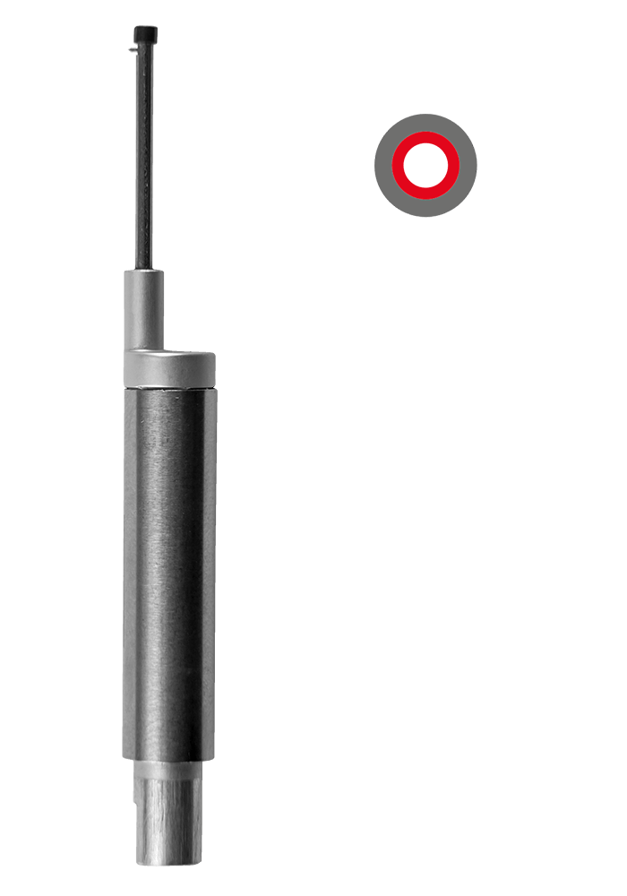 BORE TRACER (BH) X   Smallest bore: Ø 2.5 mm Max. measuring Depth: 20 mm