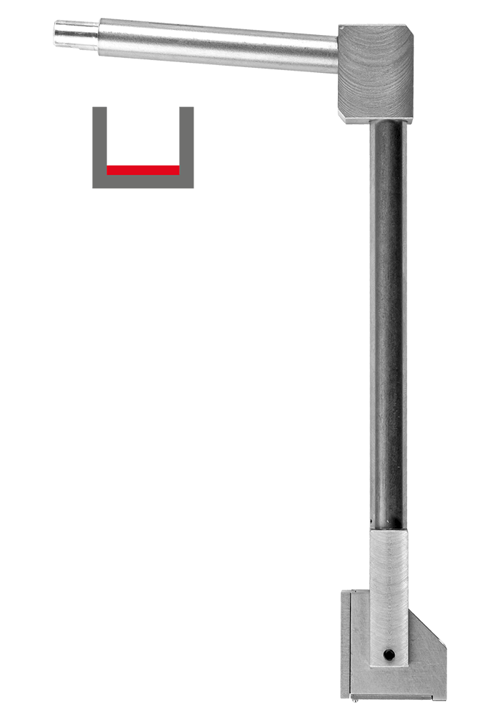 BASIS TRACER (TH)  For base measurements to depths of 140 mm