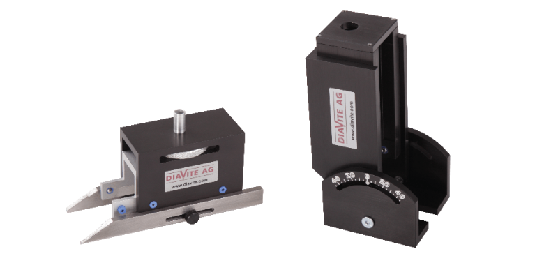 Adaptors  For measuring large workpieces with tracers without skid