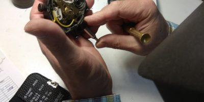 Reparación reloj comparador